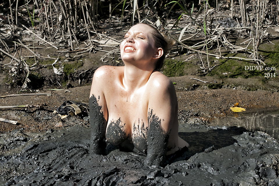 from Eric naked girl sinks in mud